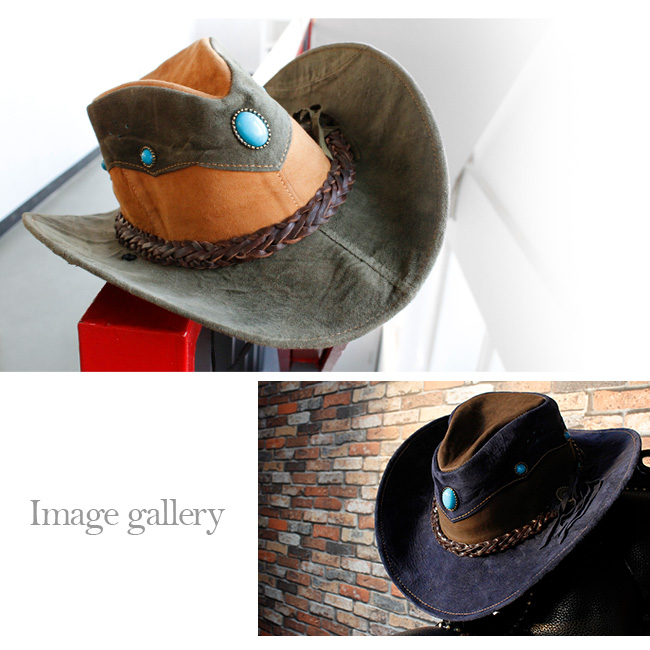 660a92f8 ... Leather hat black / brown / beige / navy / multicolored hat004 made of western  hat