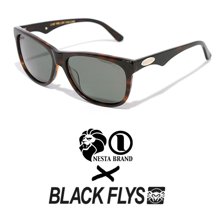 NESTA BLACKFLYS サングラス ネスタ ブラックフライ 偏光レンズ FLY MIND フライマインド