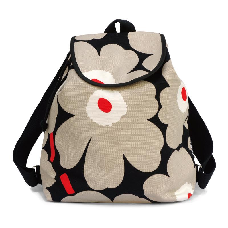 marimekkoマリメッコ エリカピエニウニッコバックパック リュックサック Erika Pieni Unikko backpack 047001