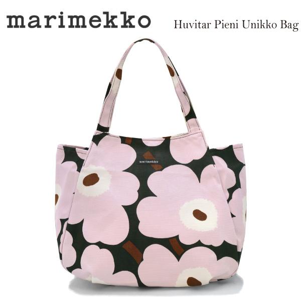 marimekkoマリメッコ Huvitar Pieni Unikko Tote bag フビターピエニウニッコキャンバストートバッグ ハンドバッグ 047223 638