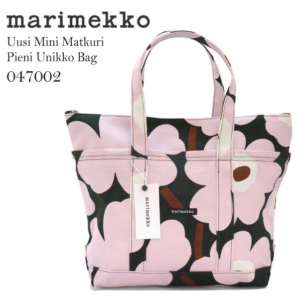 marimekkoマリメッコ Uusi Mini Matkuri Helokki Bag ミニマツクリキャンバストートバッグ 047002