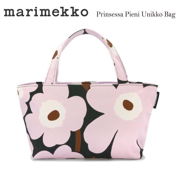 marimekkoマリメッコ プリンセッサピエニウニッコキャンバストートバッグ Prinsessa Pieni Unikko Tote bag ハンドバッグ 047224 638