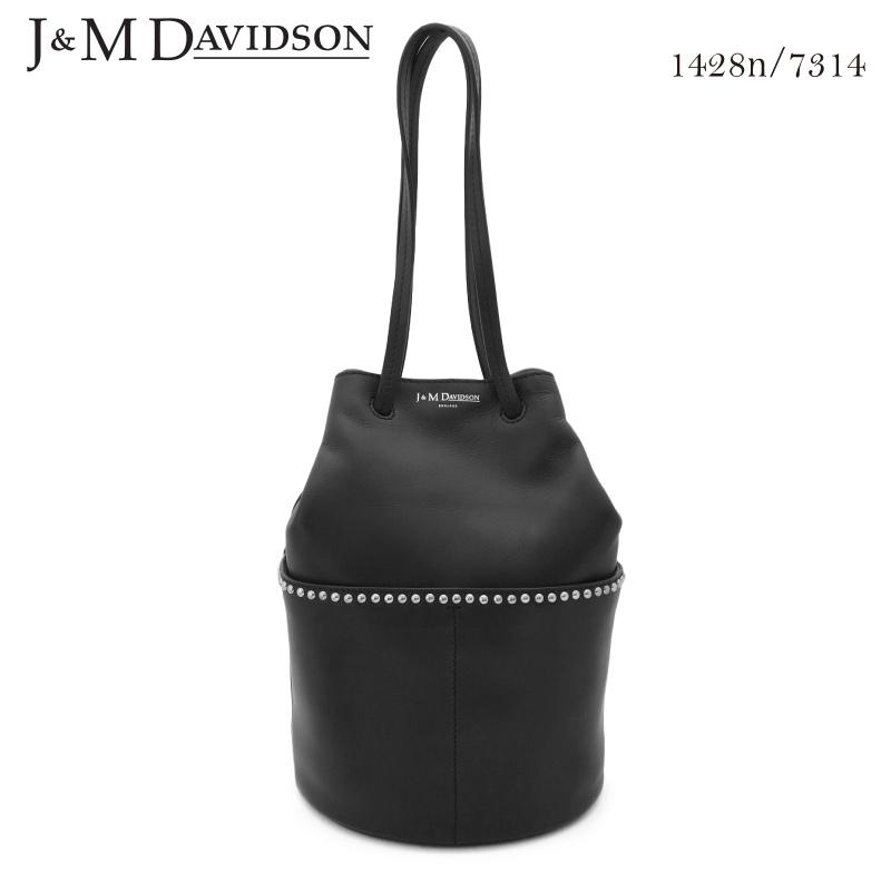 【J&M DAVIDSON】ジェイアンドエム デヴィッドソン ミニデイジーウィズスタッズ MINI DAISY WITH STUDS 1428n/7314 カーフレザー ショルダーバッグ トートバッグ おしゃれ 実用的 レディース プレゼントにも