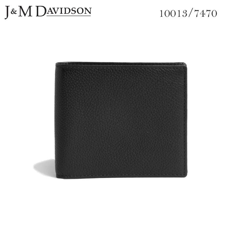【美品】 J&M メンズ SMALL DAVIDSON Case 二つ折り小銭入れ付き革財布 Wallet with Coin Case SMALL GRAIN 10013 7470 9990 ジェイアンドエム デヴィッドソン レディース メンズ ユニセックス, e-Bagshop:b26744d4 --- uptic.ps