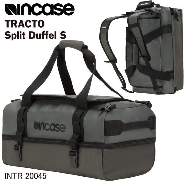 INCASE インケース ボストンバッグ リュック 40L TRACTO Split Duffel S INTR20045 ANTHRACITE ダッフルバッグ 2way 男女兼用