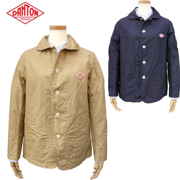 DANTON ダントン レディース 丸襟シングルジャケット DOWN PROOF ROUND COLLAR JACKET JD-8711