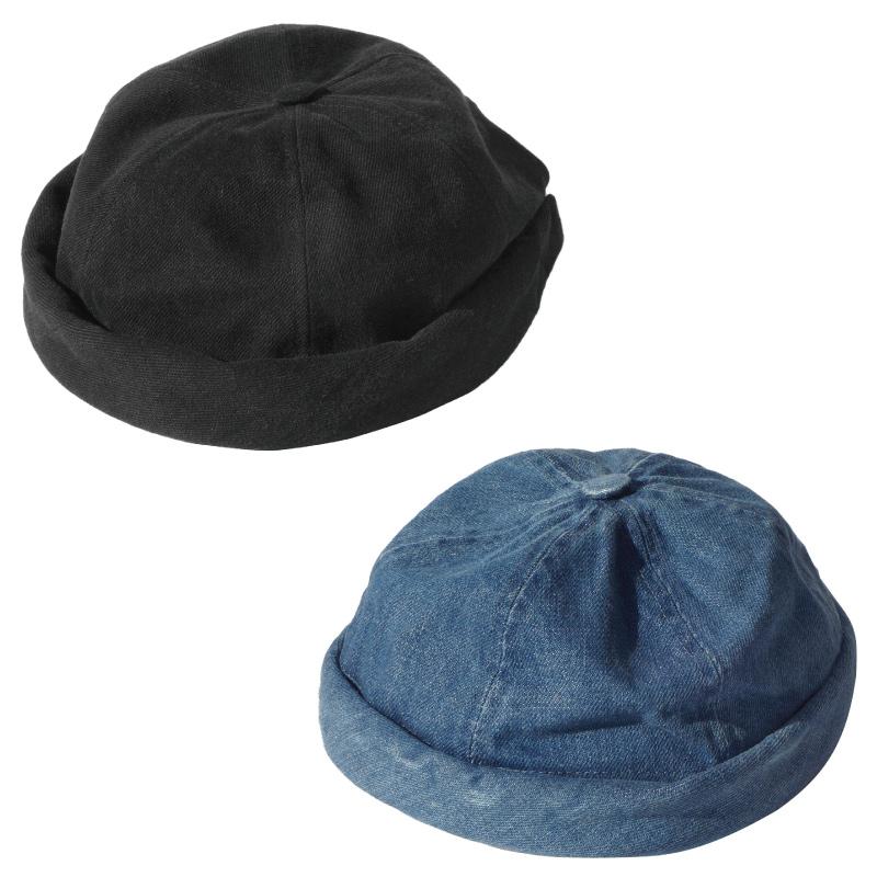 誕生日/お祝い 新入荷しました パリ発のおしゃれな帽子 BETON CIRE ベトンシレ MIKI WASHED ミキウォッシュド メンズ コットン レディース ユニセックス フィッシャーマンキャップ トレンド レザーストラップ 帽子 キャップ