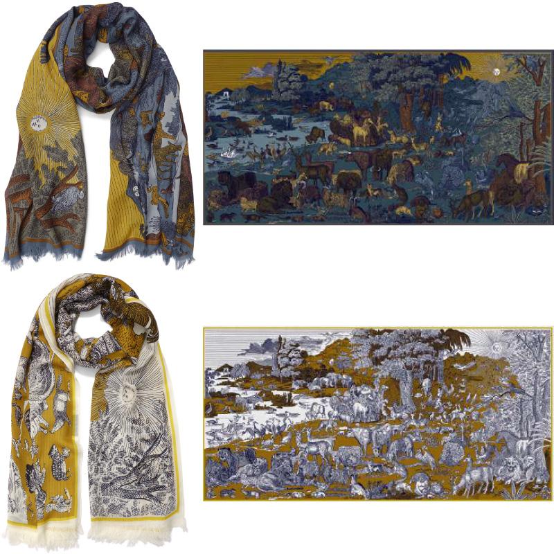 フランスデザインのおしゃれなストール プレゼントにも最適 専門店 オンラインショッピング ネコポス可 INOUI EDITIONS イヌイエディションズ ウォッシャブルウールストール REVE 100% 夢 イヌイトゥーシュ inouitoosh washable wool スカーフ