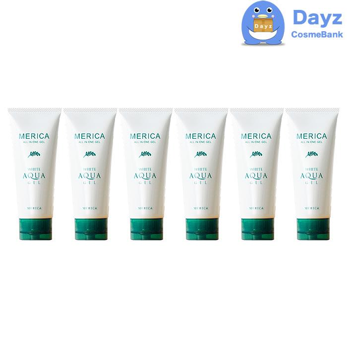 メンズコスメ 薬用ホワイト 抗シワ 6点セット 医薬部外品 メリカ アクアゲル 美容液 ユニセックス 100g