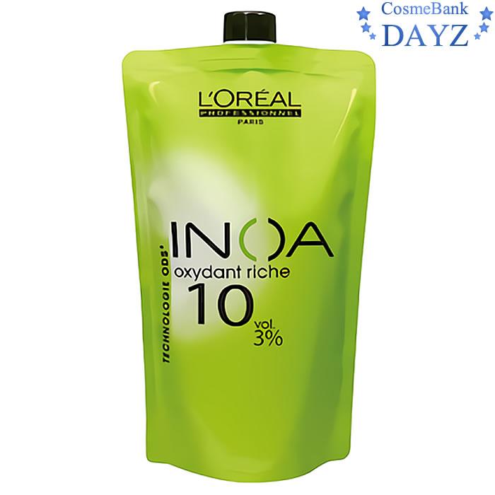 さわればわかる さわりたくなる INOAカラー 品質保証 第2剤 ロレアル 1000mL オキシダンクレーム イノア 3% 捧呈