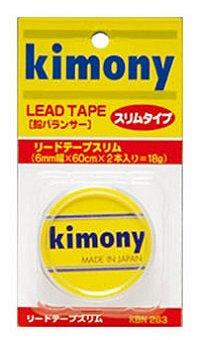 6mm×60cm×2本入り NEW売り切れる前に☆ スチロールケース付 鉛バランサー キモニー スーパーセール リードテープ スリム 幅が狭く取り付け簡単