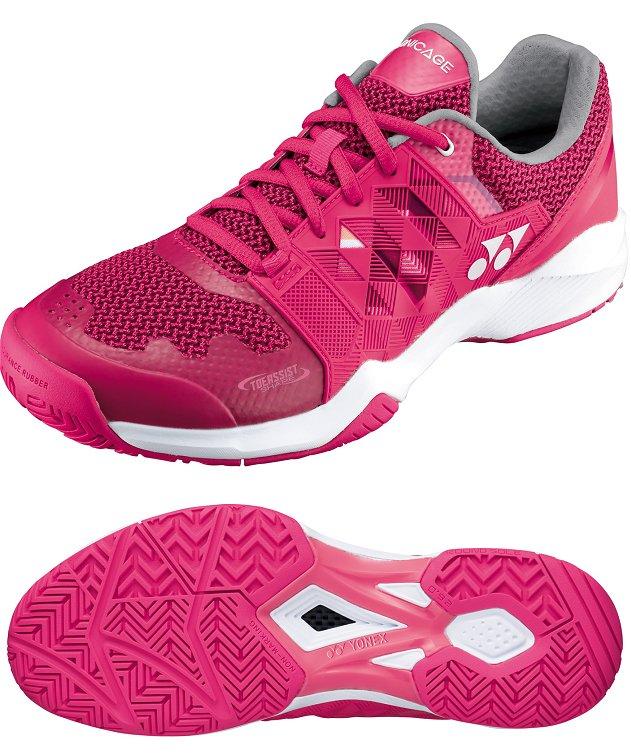メーカー取り寄せ受注後在庫有無連絡します。ヨネックス・テニスシューズSHTSLACパワークッション・ソニケージ ウィメン ACオールコート用カラー026色ピンク