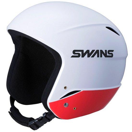 【予約販売】本 メーカー取り寄せ受注後在庫の有無ご連絡します。SWANSH-70FISジュニア用スキーレーシング用ヘルメットカラーW/RD色ホワイト×レッドサイズ51~54cm約620g, Queen Collection:e5a3b5fc --- aqvalain.ru