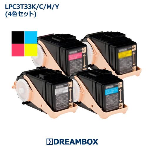 LPC3T33 トナー(4色セット) リサイクル  LP-S7160対応