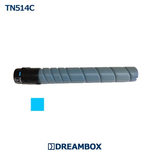 TN514C シアントナー リサイクル bizhub C458 bizhub C558 bizhub C658対応
