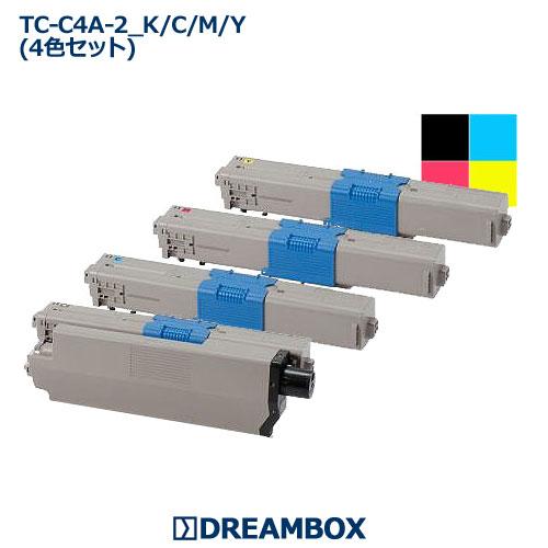 リサイクル トナー(4色セット) TC-C4A C332dnw・MC363dnw対応