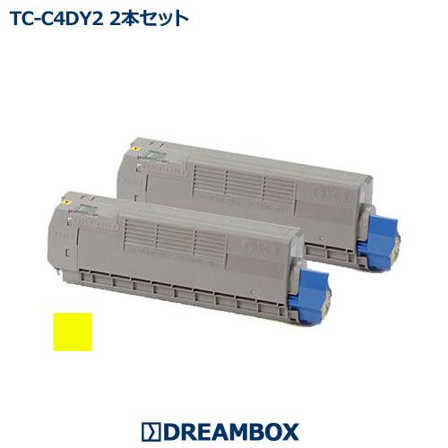 TC-C4DY2 イエロートナー(2本セット) リサイクル C612dnw対応