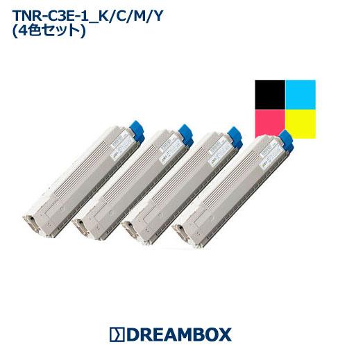 トナー(4色セット) TNR-C3E C8600dn・C8650dn・C8800dn対応 リサイクル