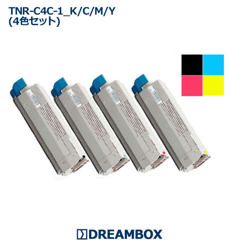TNR-C4C トナー(4色セット) リサイクル C5800n・C5800dn・C5900dn対応