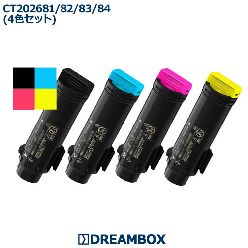 CT202681~684 トナー(4色セット) リサイクル DocuPrint CP310dw・CP310dwII・CM310z・CM310zII対応