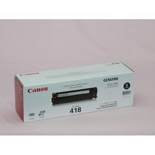 CANON CRG-418BLK (ブラック) 【トナー】