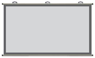 KIKUCHI WAV-80C [80インチ] 【プロジェクタスクリーン】