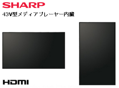 SHARP PN-Y436 [43インチ] 【液晶モニタ・液晶ディスプレイ】