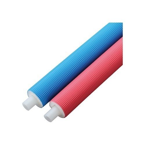 ONDA bridging polyethylene pipe single (10mm thermal insulation)  PEX13C-PP10-25 pink 13Ax25m winding | Equipment of a house, electric  materials