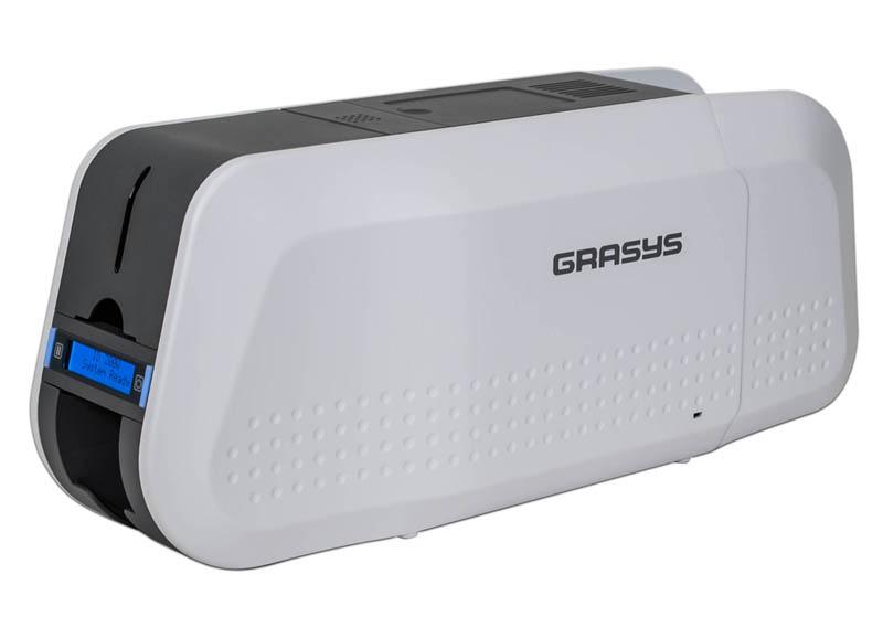 ★日本の職人技★ GRASYS カラーカードプリンタ ID200W 両面機 作成ソフト付き, supreme ba3111d4