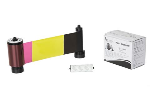 片面カラー&裏面ブラック(両面機専用)リボンカートリッジYMCKOK 型番:SPCDC-YMCKOK(200枚)カードプリンタ GRASYS用