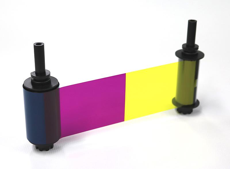 オーバーコート付きカラーリボン YMCKO 210面/巻 (カードプリンタPR-C151用 8巻入/箱)PR50023BP