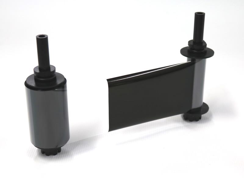 オーバーコート付き単色黒リボン KO 500面/巻 (カードプリンタPR-C151用 4巻入/箱) PR50025HKO