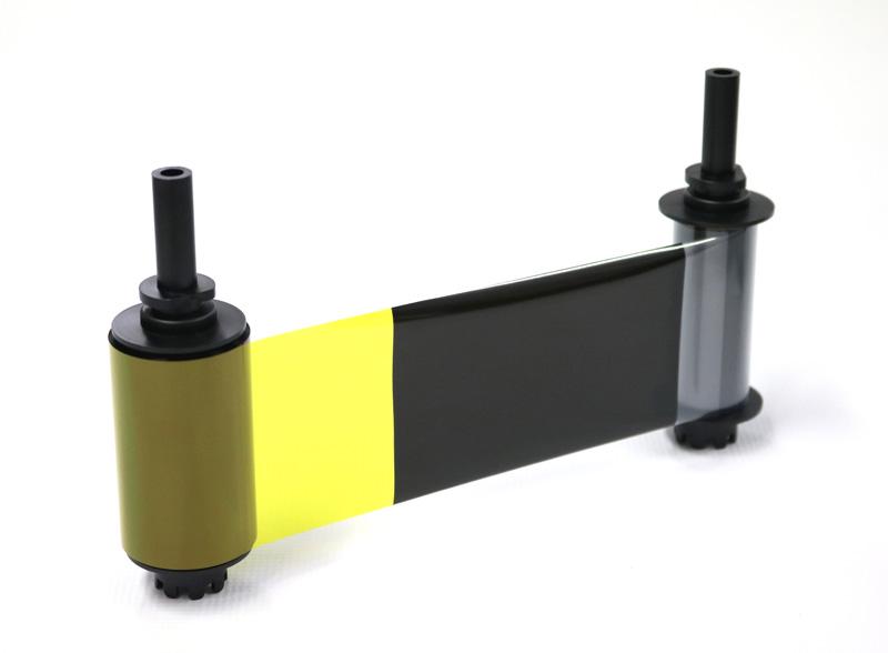 オーバーコート付き裏面墨カラーリボン YMCKOK(表カラー裏ブラック) 210枚/巻 (カードプリンタPR-C151用 8巻入/箱)PR50025K2