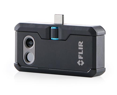 【フリアー】FLIR ONE PRO Android版USB TYPE-C用 赤外線サーモグラフィカメラアタッチメント スマートフォン用 -20℃~400温度検知可能!※Apple社のiPad11インチと12.9インチ(USB-Cタイプ)には対応しておりません