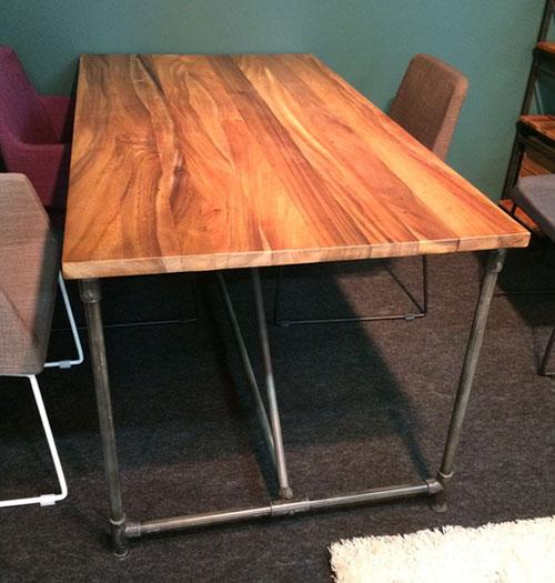 Elements ダイニングテーブル北欧 テイスト ミッドセンチュリー ナチュラル 木製 テーブル シンプル 男前インテリア インダストリアル家具 天然木 家具