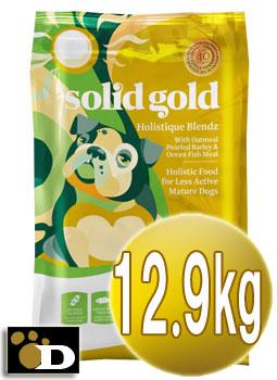 ソリッドゴールド ホリスティックブレンド 12.9kg(老犬、成犬用)【送料無料 SOLID GOLD 正規品】ドッグフード