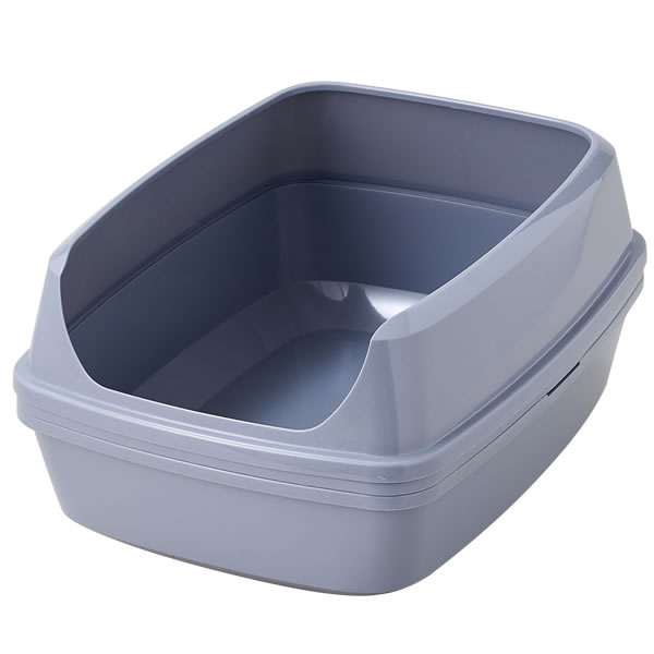 ネコトイレ 手を汚さずにトイレ掃除 ノータッチリッターボックス【送料無料】