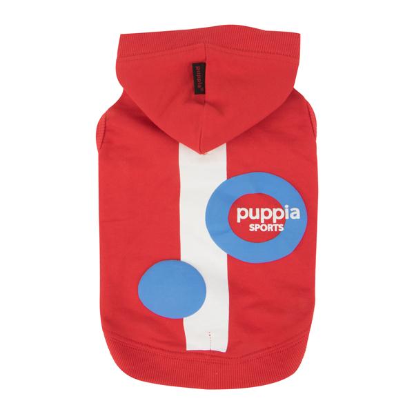 犬服 PUPPIA オールシーズン着用可能パーカー VALO(小型、中型犬用)【犬の服2点購入でメール便】ドッグウェア パピア