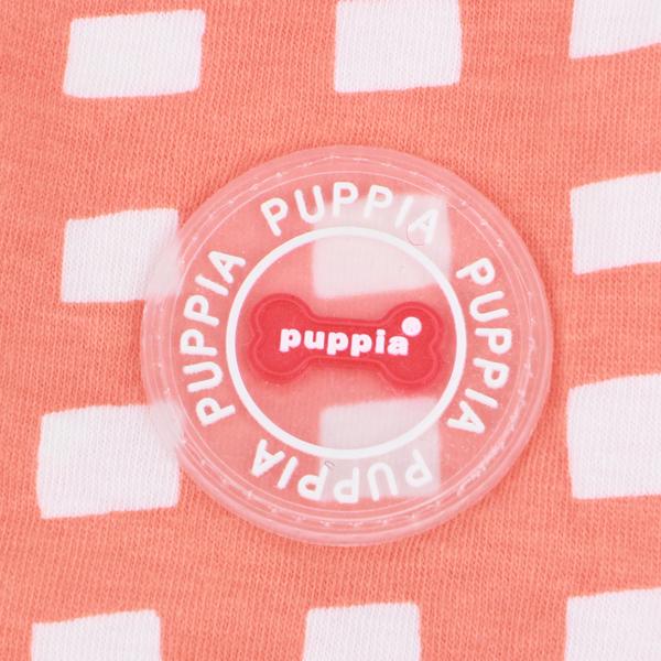 犬服 PUPPIA マナーパンツとお揃いで カラーチェック柄キャミソール AVA(小型犬 中型犬用)【犬の服2点購入でメール便】ドッグウェア パピア