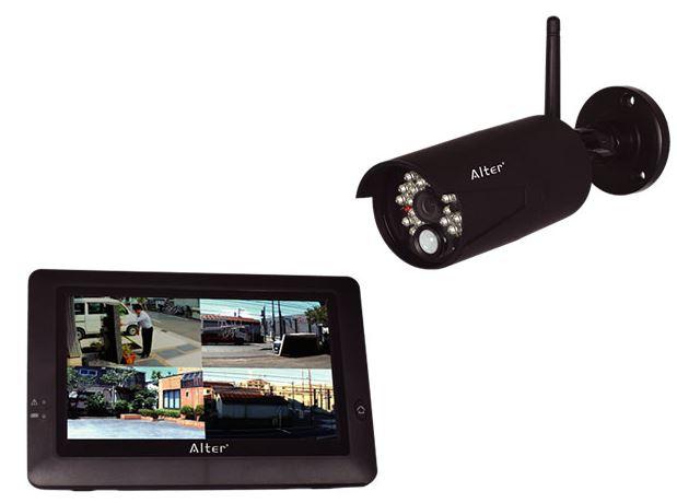 キャッシュレス5%還元対象 送料無料 キャロットシステムズ ハイビジョン無線カメラ モニターセット AT-8801