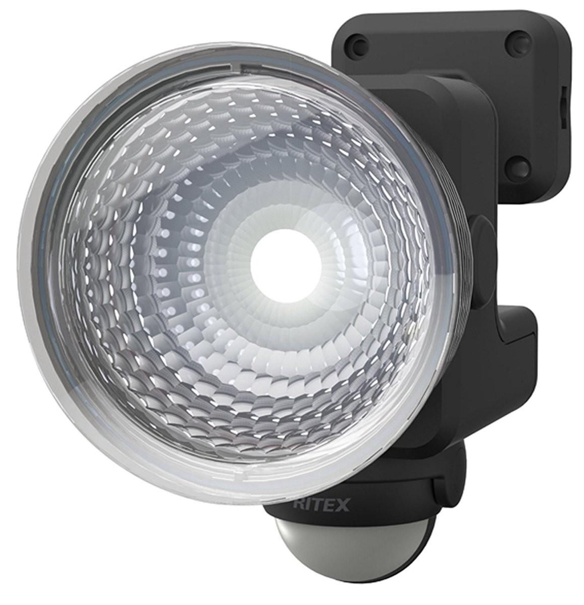 北海道 超人気 沖縄 お届け不可 ムサシ RITEX LED-115 1.3W×1灯 フリーアーム式LEDセンサーライト 防雨型 卸売り 乾電池式