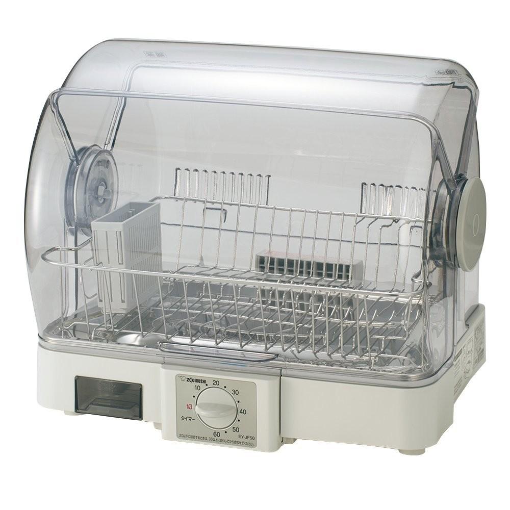 北海道 沖縄 お届け不可 象印 気質アップ AL完売しました EY-JF50-HA 80cmロング排水ホースつき 食器乾燥機