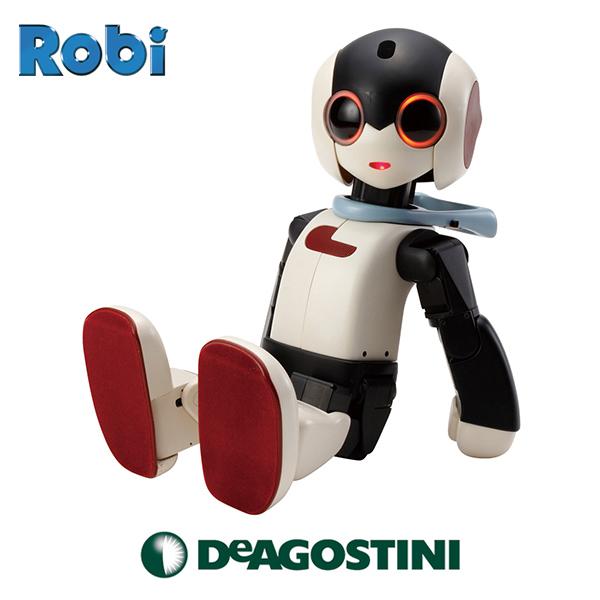【特装版】ロビ(組立済み完成品)キャリングケース付き 会話 できる ロボット おもちゃ デアゴスティーニ 誕生日 プレゼント 知育玩具 6歳 男の子 女の子 6才 2020 父の日 プレゼント