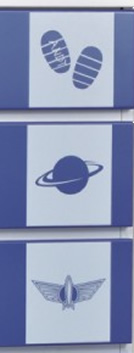 75 cm width 6 cardboard silhouette (Buzz Lightyear)
