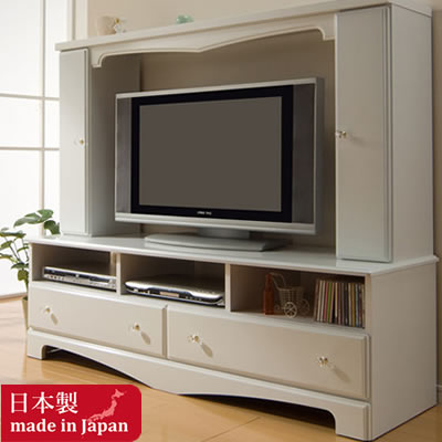 Attirant Combines The Serene Princess Of TV Table 150 Cm Width (pinky Cabinet)  White  ...