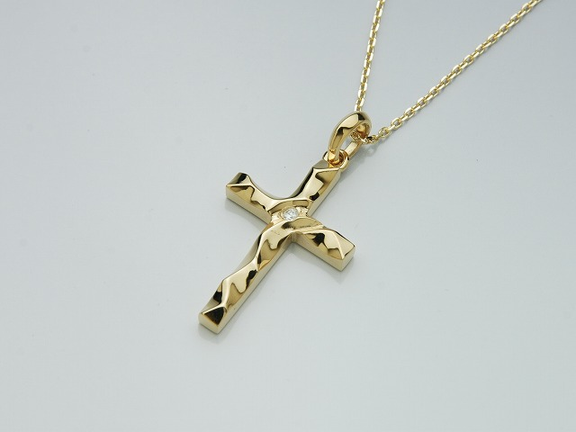【DEAL LTD/ディールエルティーディー】◆MEDIUM SILK CUT CROSS(K18)◆