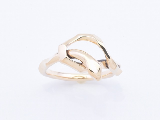 【DEAL LTD/ディールエルティーディー】◆KNOT SNAKE RING SINGLE:K10◆