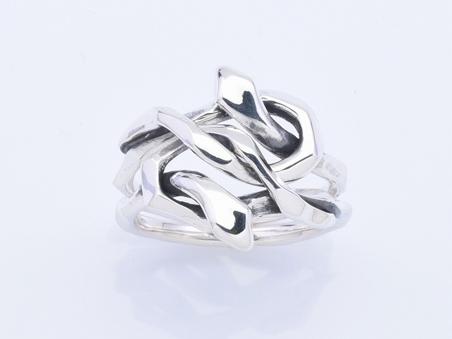 【DEAL LTD/ディールエルティーディー】◆KNOT SNAKE RING DOUBLE◆