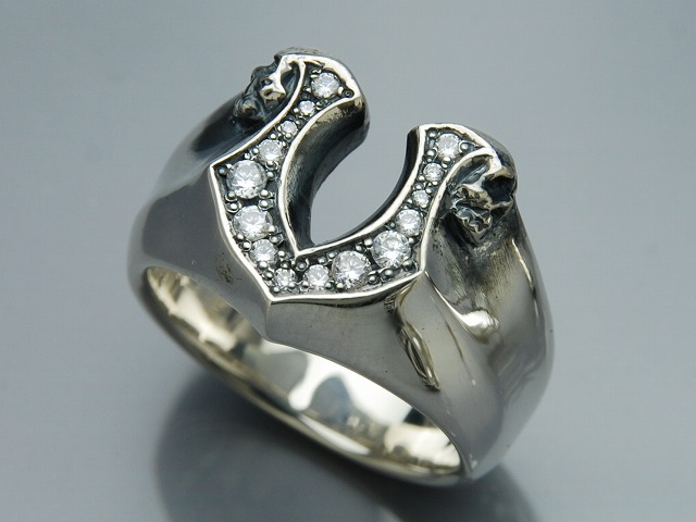 【DEAL LTD/ディールエルティーディー】◆HORSE EMBLEM RING NARROW◆