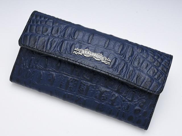 ◆Trucker roll wallet (model push クロコ)◆